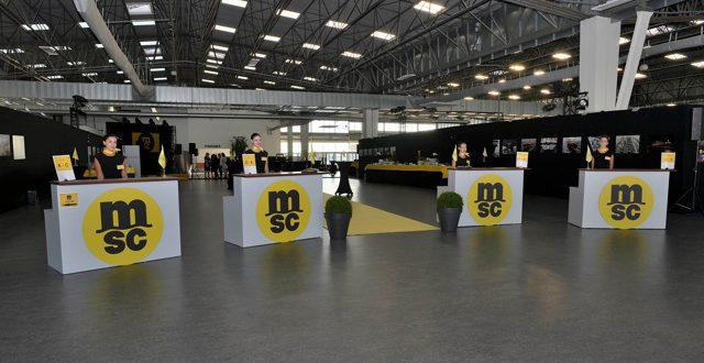 organisation d'une soirée pour la société MSC à Marseille
